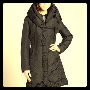 TAHARI Elissa Down Puffer Coat